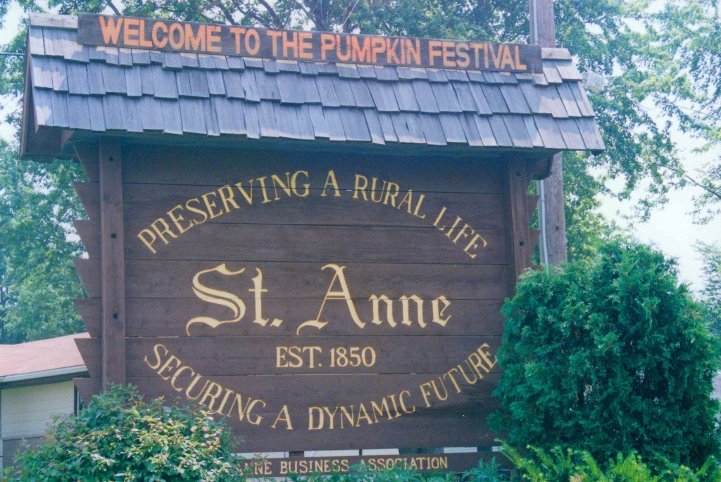St. Anne Sign